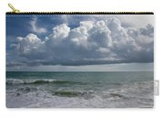 Storm Clouds Above The Atlantic Ocean Carry-all Pouch