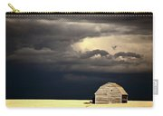Storm Clouds Behind Abandoned Saskatchewan Barn Carry-all Pouch