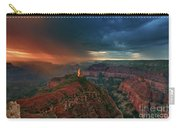 Storm Clouds North Rim Grand Canyon Arizona Carry-all Pouch by Dave Welling