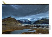Storm Clouds Over A Glacier - Iceland Carry-all Pouch