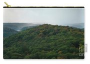 Storm Clouds Over Fall Nature Scenery Carry-all Pouch