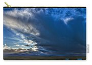 Storm Clouds Over Farmland #2 - Iceland Carry-all Pouch