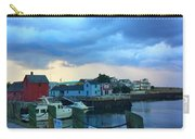 Storm Clouds Over Rockport Harbor Carry-all Pouch