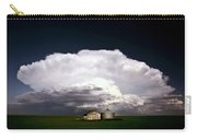 Storm Clouds Over Saskatchewan Granaries Carry-all Pouch