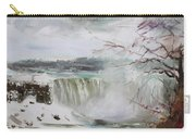 Storm In Niagara Falls  Carry-all Pouch