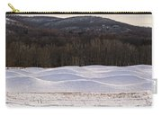 Storm King Wavefield In Snowy Dress Carry-all Pouch