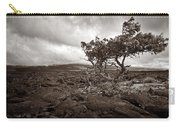 Storm Moving In - Sepia Carry-all Pouch
