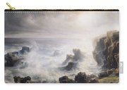 Storm Off The Coast Of Belle Ile Carry-all Pouch