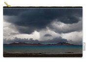 Storm On Karakul Lake. Panorama Carry-all Pouch by Konstantin Dikovsky