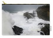 Storm On The Oregon Coast 2 Carry-all Pouch