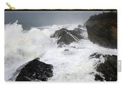 Storm On The Oregon Coast Carry-all Pouch