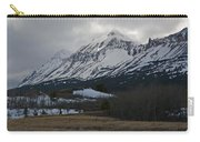 Storm On The Rocky Mountain Front Carry-all Pouch