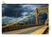 Storm Over Bridge Carry-all Pouch