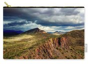 Storm Over Cliffs Carry-all Pouch