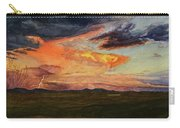 Storm Over Davis Mountains Carry-all Pouch