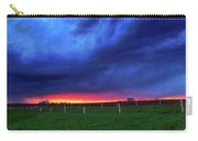 Storm Over Farm Country Carry-all Pouch