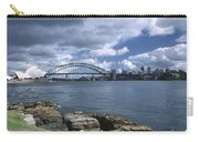 Storm Over Sydney Harbor Carry-all Pouch