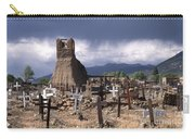 Storm Over Taos Graveyard Carry-all Pouch