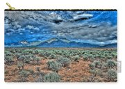 Storm Over Taos Mountain Carry-all Pouch
