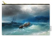 Storm Over The Black Sea Carry-all Pouch