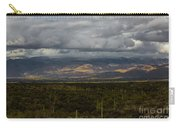 Storm Over The Mountains Of Arizona Carry-all Pouch