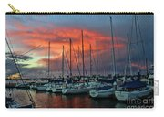 Storm Over The Newport Harbor Carry-all Pouch