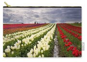 Storm Over Tulips Carry-all Pouch by Mike  Dawson