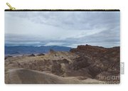 Storm Over Zabriskie Point Carry-all Pouch