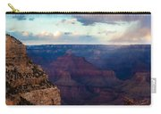 Storm Passes The Grand Canyon Carry-all Pouch