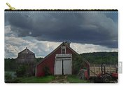 Storm Upon Maple Grove Farm Carry-all Pouch