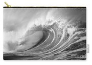 Storm Wave - Bw Carry-all Pouch