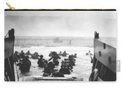 Storming The Beach On D-day  Carry-all Pouch by War Is Hell Store