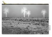 Storms And Halos Bw Carry-all Pouch by Scott Cordell