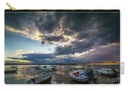Storms At Dusk In La Caleta Cadiz Spain Carry-all Pouch