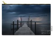 Storms On The Dock Carry-all Pouch