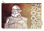 Stormtrooper - Star Wars Art - Brown Carry-all Pouch
