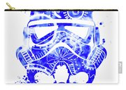 Stormtrooper Mask Blue 1 Carry-all Pouch