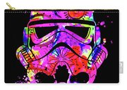Stormtrooper Mask Rainbow 10 Carry-all Pouch