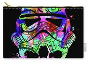 Stormtrooper Mask Rainbow 6 Carry-all Pouch