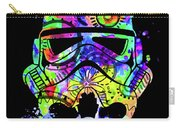 Stormtrooper Mask Rainbow 9 Carry-all Pouch