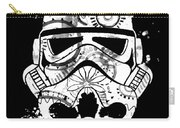 Stormtrooper Mask White Black 5 Carry-all Pouch