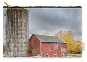 Stormy Autumn Skies Square Carry-all Pouch