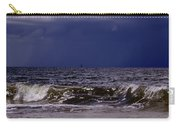 Stormy Beach Carry-all Pouch by Carolyn Marshall