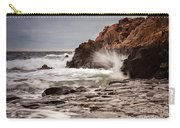 Stormy Beach Waves Carry-all Pouch
