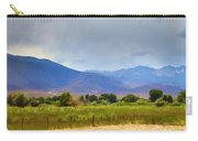 Stormy California Mountains Carry-all Pouch