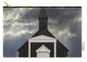 Stormy Day At The Black Church Carry-all Pouch