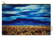 Stormy Day In Taos Carry-all Pouch