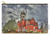 Stormy Day Jones County Georgia Court House Art Carry-all Pouch