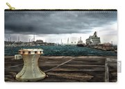 Stormy Harbor Kings Wharf Bermuda Carry-all Pouch