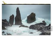 Stormy Iclandic Seas Carry-all Pouch